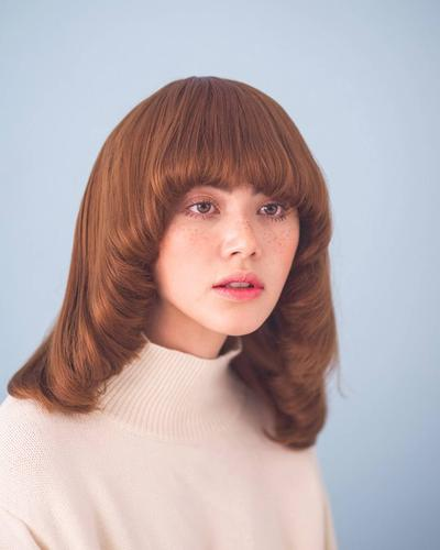 Rambut Unik Berponi
