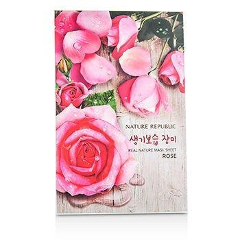 Nature Republic Real Nature Rose Mask Sheet