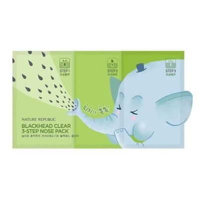 Nature Republic Blackhead Clear 3 Steps Nose Pack