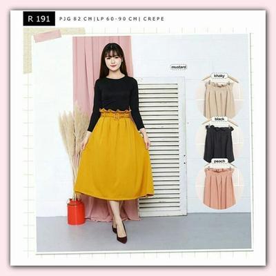5. Midi Skirt