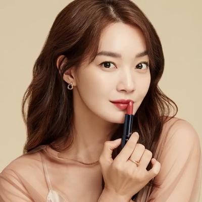 Pesona Shin Min Ah, Kekasih Kim Wo Bin dengan Berbagai Look Makeup