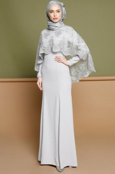 Brokat Satin Cape