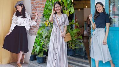 Stylish dan Manis, Intip Yuk Style #OOTD dari Si Cantik Cut Syifa Ini!