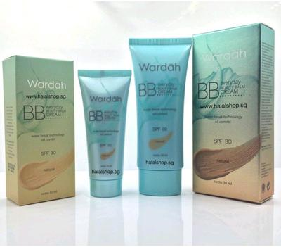 Packaging Wardah Every Day BB Cream