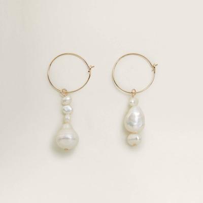 3.  Natural Pearl Earrings