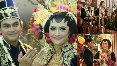Cantik Memesona! Ini Dia Model Baju Pengantin Jawa dengan Hijab Para Selebriti yang Bisa Menginspirasimu!