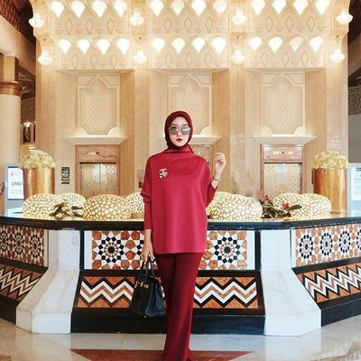 One-Tone Outfit Hijab