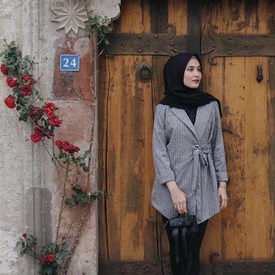 Blazer With Hijab