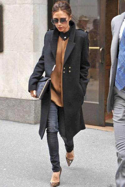4. Jeans dengan Coat