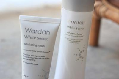 5. Wardah White Secret Exfoliating Lotion