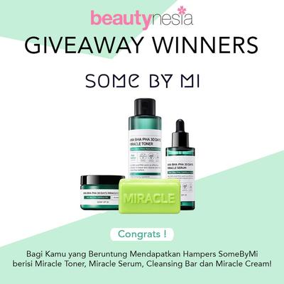 [GIVEAWAY ALERT] 4 Pemenang Beruntung Hampers Some By Mi Gratis!
