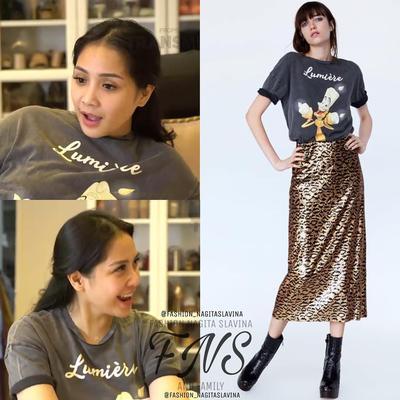 Disneys Lumiere T-shirt from Zara