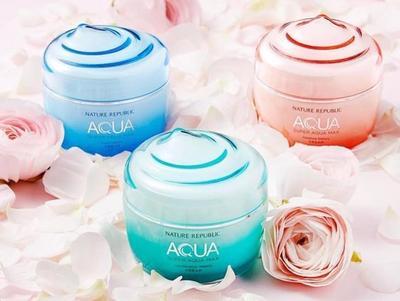 4.  Super Aqua Max Combination Watery Cream By Nature Republic (3 Varian)