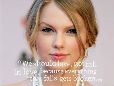 Do Love, Not Falling in Love