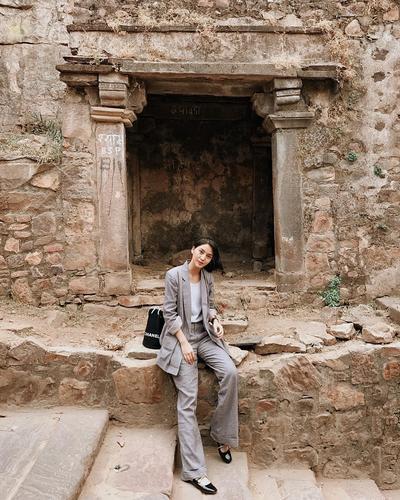 1. Pantsuit Style