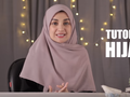 Tutorial Hijab Segi Empat Menutup Dada Versi Shireen Sungkar