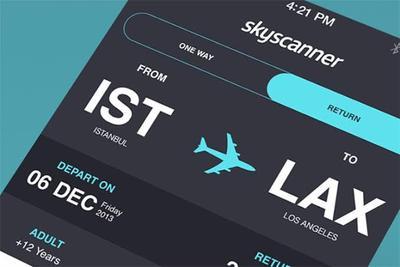 Coba Aplikasi Skyscanner