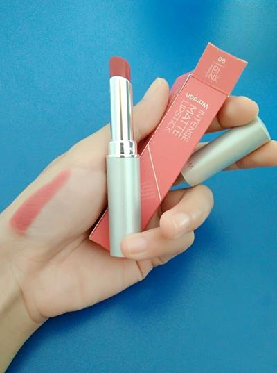 Lipstik Wardah Intense Matte No. 6 Blooming Pink