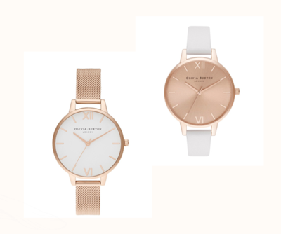 Demi Dial (Pale Rose Gold) Collection
