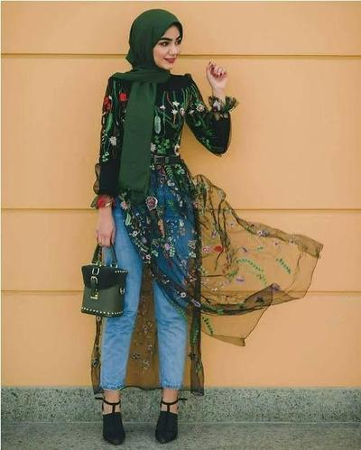 Dresscode Kondangan Buat Hijabers Pakai Jeans? Siapa Takut!