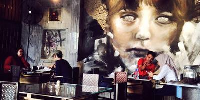 Abandoned Cafe, Bandung