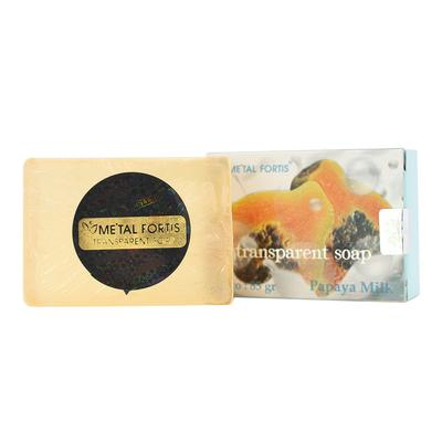 3.	Sabun Batang Metal Fortis Papaya Milk Soap