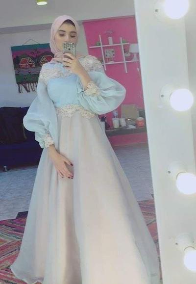 6 Inspirasi Gaun Pesta Muslim yang Anggun Nan Mewah