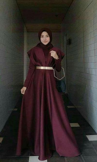 1.Gaun Muslim yang Cantik