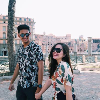 Tasya Kamila dan Randi Bachtiar