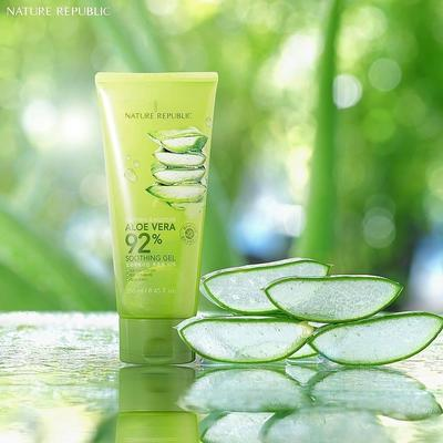 Nature Republic Soothing and Moisturizer Aloe Vera 92% Soothing Gel
