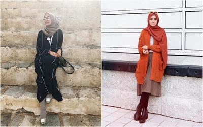 Trik Pakai Tunik agar Terlihat Lebih Tinggi ala Hijabers Kece 2019