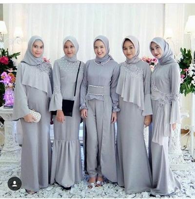 Cantik dan Memesona, Ini Dia Inspirasi Busana Kondangan yang Simple untuk Para Muslimah