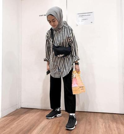 Stripe Shirt, Sneaker, Mix Funny Pack