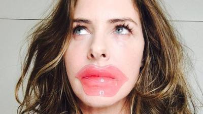 3. Lip Mask Untuk Bentuk Bibir