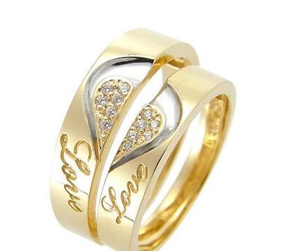 Cincin Nikah Emas Lucu