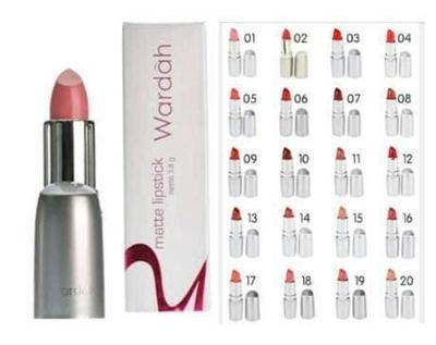 4. Wardah Lipstick Matte