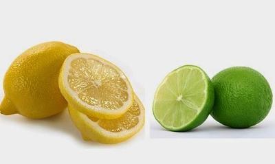Lemon dan Jeruk Nipis