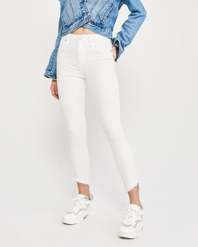 High-Rise Jeans dari Abercrombie & Fitch