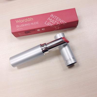 Lipstik Wardah Intense Matte No. 2 Blushing Nude