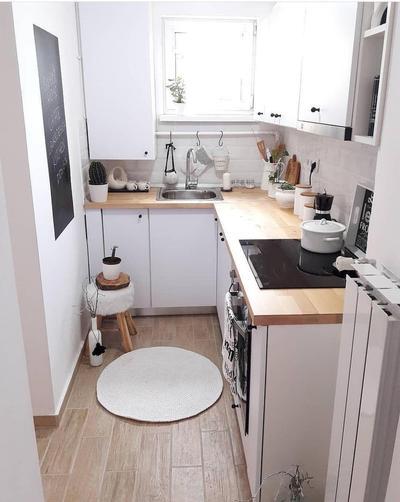 1. Desain Dapur Minimalis Sederhana dengan Bentuk L-Shaped