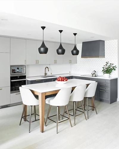4. Desain Dapur Minimalis Modern Full Kabinet