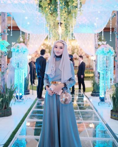 Hijab Untuk Kondangan Ala Rifka Martha