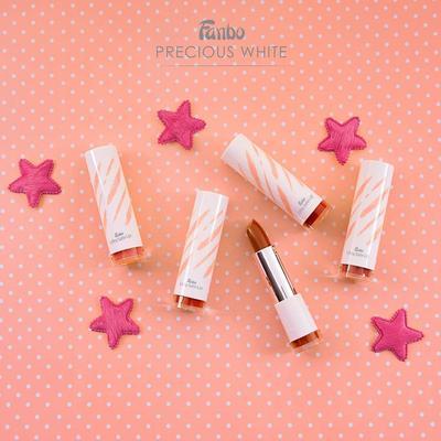 2.  Fanbo Precious White Ultra Satin Lipstick
