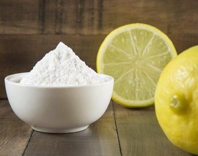 Campuran Baking Soda dan Lemon