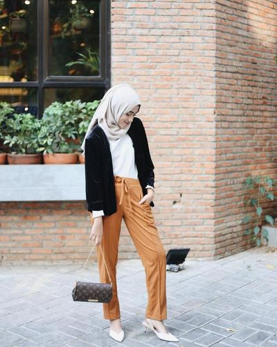 Bawahan Sailor Pants ala Selebgram Hijab Shireen Althrus