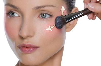 3.Gunakan blush on