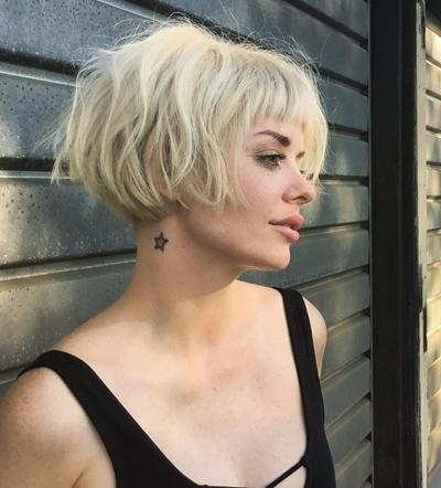 Short Blonde Hair Color For Chic Look
