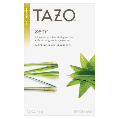 Green Tea and Lemongrass Dari Merek Tazo