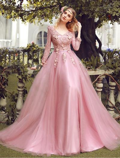Organza Long Dress