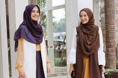 Stylish nan Santun, Ini Inspirasi Model Jilbab Syar'i 2019 ala Selebriti Indonesia